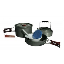 Fire-Maple FMC-204 2-3 Person Lightweight Aluminium Cookware Set