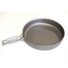 Jobsworth Large Titanium Frying Pan With Handles