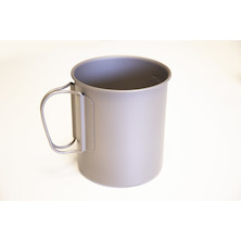 Jobsworth Titanium 600ml Titanium Mug Without Lid