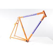Holdsworth Professional Italia Frameset (Italian Made) / 51cm / Team Orange And Blue  (Scatched Fork)