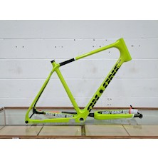 On-One Bish Bash Bosh Carbon Adventure/Gravel Frameset / Large / Lemon and Lime