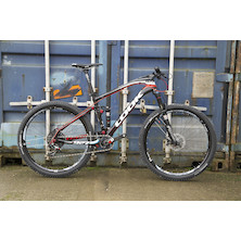 Look 927 Carbon MTB Sram XO1 1x11 Speed White And Red / Small / Level Brakes