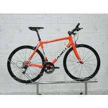 Planet X Pro Carbon SRAM Rival 11 Flat Bar / Large / Orange