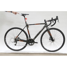 Viner Super Prestige SRAM Rival 11 HRD Cyclocross Bike - Medium Orange And Black