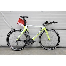 Guerciotti Lunar Shimano Ultegra 6800 Time Trial Bike / Yellow / Medium