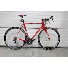 DEMA Corsa Shimano Ultegra DI2 Road Bike / 57cm / Red-White