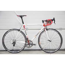 099 - Viner Record Spirit Campagnolo SUPER RECORD Road Bike / Red And White / 56cm