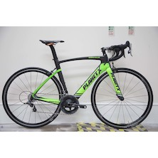 Planet X Squalo Aero Custom Build Force Bike / Medium Green / Black