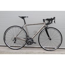 Planet X Spitfire Road Bike / Medium / Raw Ti / Shimano Ultegra 6800