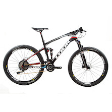 Look 927 Carbon MTB Shimano Deore XT White and Red