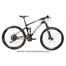 Look 927 Carbon MTB Shimano XT 2x11 Speed White and Red