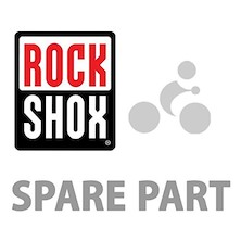 RockShox Decal Kit Tora 2011 Silver/Silver Lower Leg