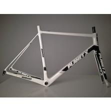 Planet X RT-80 Carbon Road Frameset / X Large / White/Black/Grey / Used