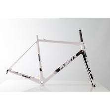 Planet X RT-80 Carbon Road Frameset / Large / White/Black/Grey / Paint Defect