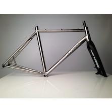 On-One Pickenflick Titanium Cyclocross Frameset / Medium / Brushed / Cosemtic Damage