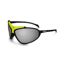 Briko Stinger Evo Glasses / Black / Yellow / Nastek Silver (Missing Lenses)