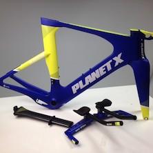 Planet X Exo3 Carbon TT Frameset / Large / Team Carnac / Cosmetic Marks