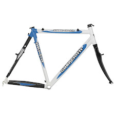 Guerciotti Kangaroo Cross Frame with Carbon Fork (Alloy Steerer) and Headset