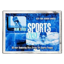 Blue Steel Sports Hair Removal Strips