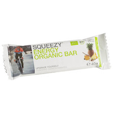 Squeezy Sports Nutrition Organic Energy Bar 40g
