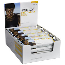 Squeezy Sports Nutrition Protein Energy Bar 50g Box of 20