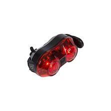 Jobsworth Vega USB Rechargeable 0.5 Watt 2 LED Rear Light