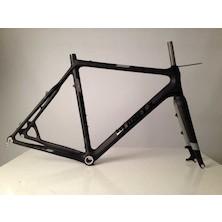 Planet X Pro Carbon XLS Cyclo Cross Frameset / 59cm / Stealth Black
