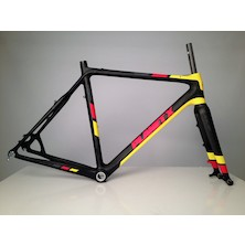 Planet X Pro Carbon XLS Cyclo Cross Frameset / 57cm / Flanders V2 / Routing Issue