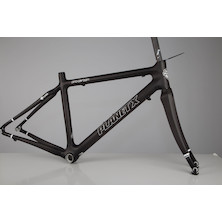 Planet X Pro Carbon Road Frameset / Small / New Matt Black / Cable Stop Issue