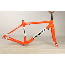 Planet X Pro Carbon Road Frameset / Small / Seville Orange / Cable Route Issue