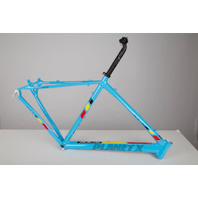 Planet X XLA Alloy Cyclocross Frame / Small / Belgium Blue / With Seatpost And Seat Clamp Fitted