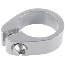 Alloy Bolt Up Silver Seatclamp / 31.8mm