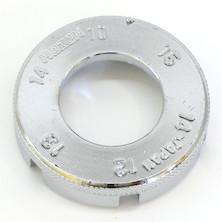 Hozan C-120 Combination Spoke Wrench Tool