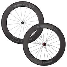 Planet X 82mm 700c Tubular Rim Handbuilt Onto Planet X Pro Hubs Wheeleset