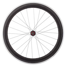 Planet X 60mm Carbon Clincher Rim Hanbuilt Onto Planet X Pro Hub Rear Wheel