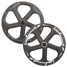 Planet X Five Spoke Carbon Aero Ceramic Bearing Front Wheel