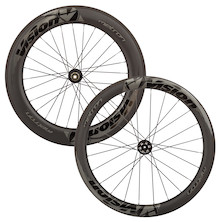 Vision Metron 55 Front / 81 Rear Carbon Clincher Disc Road Wheelset