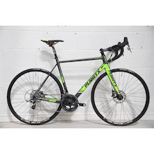 241 - Planet X RTD-90 Comp SRAM Force 11 Disc Road Bike / Large / Anthracite And Neon Green