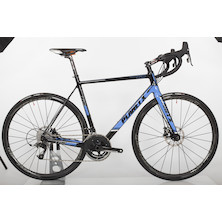 Planet X RTD-80 Disc SRAM Rival 11 Road Bike  Large  BlackSkyWhite