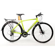 Planet X London Road Flat Bar Bike Sram Rival 11 Speed Road Bike / Medium / Zesty Lime