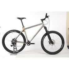 On One Ti 45650B Sram GX1 Mountain Bike 20 Inch  Brushed