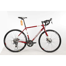 Holdsworth Stelvio Shimano Tiagra 4700 Touring Adventure Bike 51cm Small Cherry Red