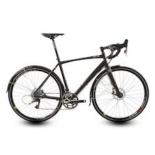 Planet X London Road SRAM Rival 11 Hydraulic Disc Road Bike / Large / Stealth Black