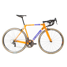 Holdsworth Super Professional Chorus Road Bike / 51cm Small / Team Orange / Calima Wheels - Ex Team New Frame