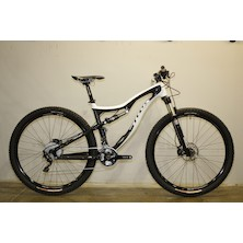 0074 - Titus Rockstar Carbon Shimano XT 29er Mountain Bike  Medium Black With White Decal - Marked - Barnsley