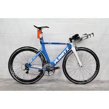 Planet X Exocet 2 Custom Build Time Trial Bike Small Guru Blue With 60/40 Gipiemme Carbon Clinchers