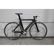 Planet X Franko Bianco Pro Carbon Track Bike extra small  Matt Black
