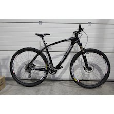 "On-One Lurcher 29er Deore Mountain Bike (Showroom Only) 19.5"" Black"