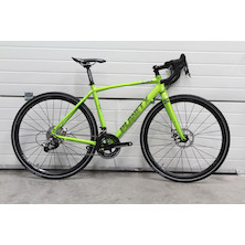 Planet X London Road Bike Medium Lime Green Sram Rival 11