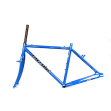 On-One Pompino V4 Frameset / Small / Classic Blue / With Cosmetic Damage